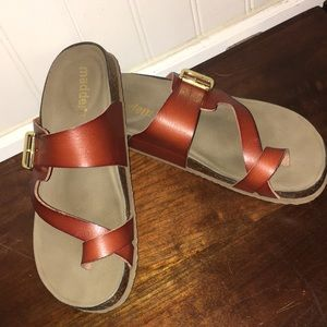 Madden Footbed Blakelyy Sandals with Buckle